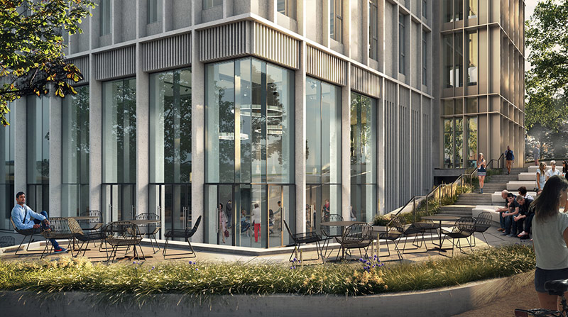 PCE will provide the structural frame of the new £54M state of the art five storey research building