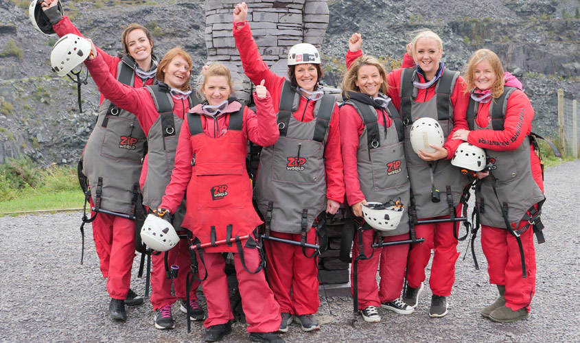 Success for PCE's DareDevil Ladies as they Support Simon's Heroes