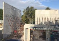 The Hybrid Frame will be built by PCE with a mixture of precast concrete components