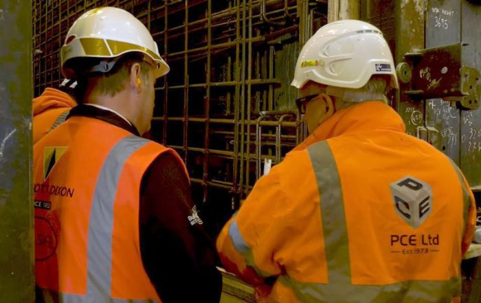 Precast coordinators and engineers regularly check precast components in the factory