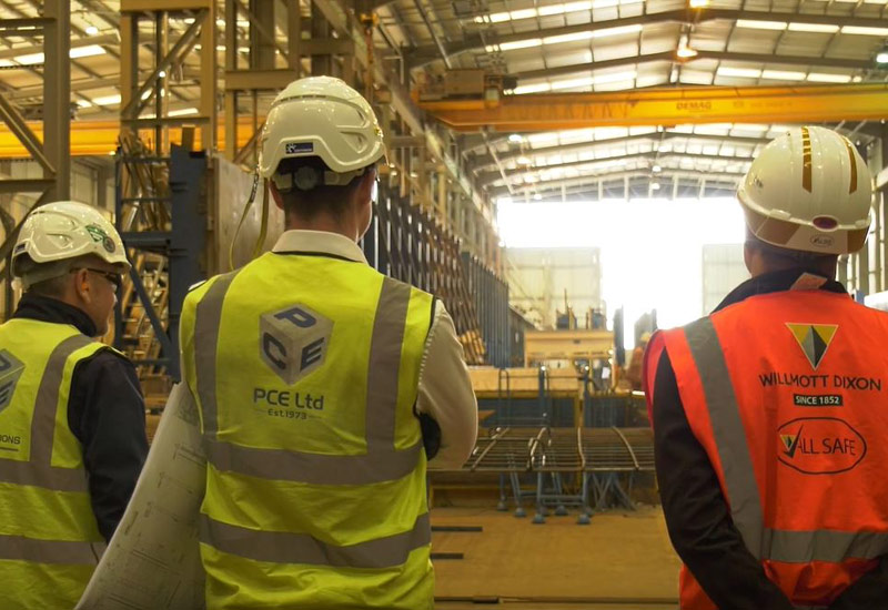 Quality assurance and checking procedures carried out within the offsite construction facility