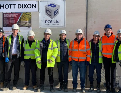 23,000 man hours of accident free working on University of Warwick construction project