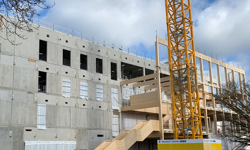 The milestone was a culmination of 6 months on-site assembly works by PCE's multi-skilled site team