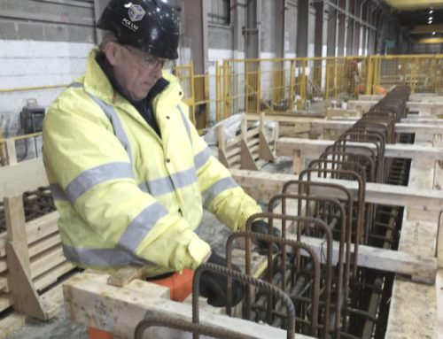 Manufacturing of offsite engineered precast concrete components