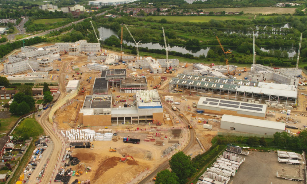 Modern Methods of Construction at PCE's Wellingborough project overcomes COVID-19 challenges