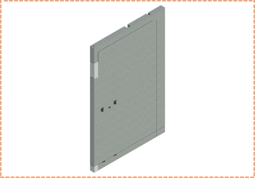 Bespoke component Solid Wall