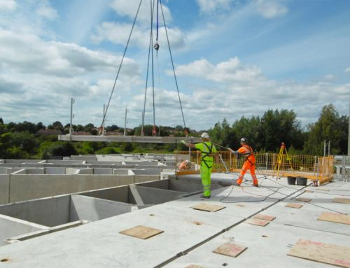 Custody Suite completion: 313 offsite engineered precast elements erected