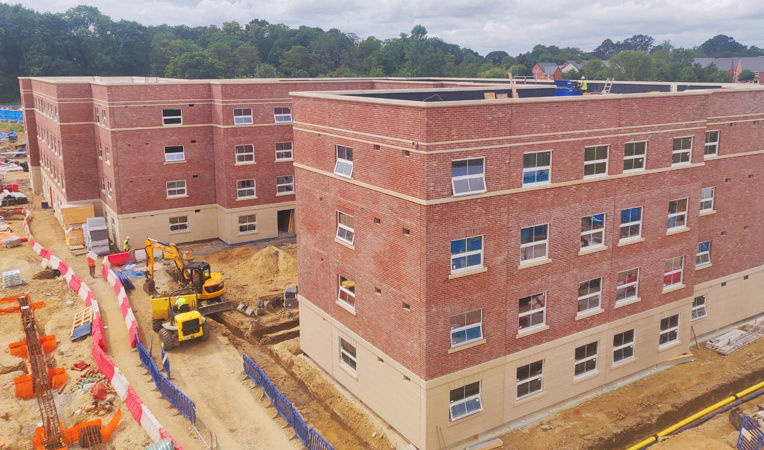 PCEs Durham University student accommodation construction project