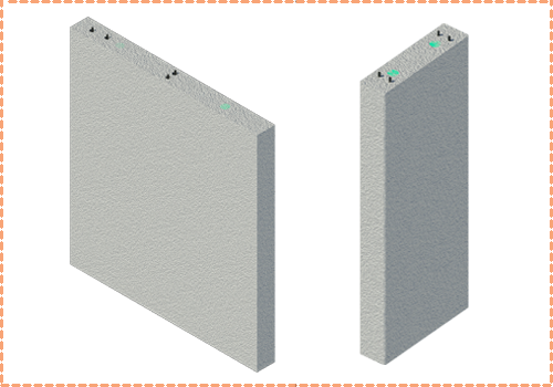 hyTower component Walls and Columns