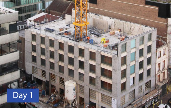 Day 1 PCEs hyTower® offsite engineered HybriDfMA at Commercial Road