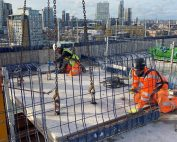 The final precast concrete unit has been installed at Commercial Road