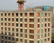 PCE's hyTower® system approach has enabled the HybriDfMA structure to be completed safely
