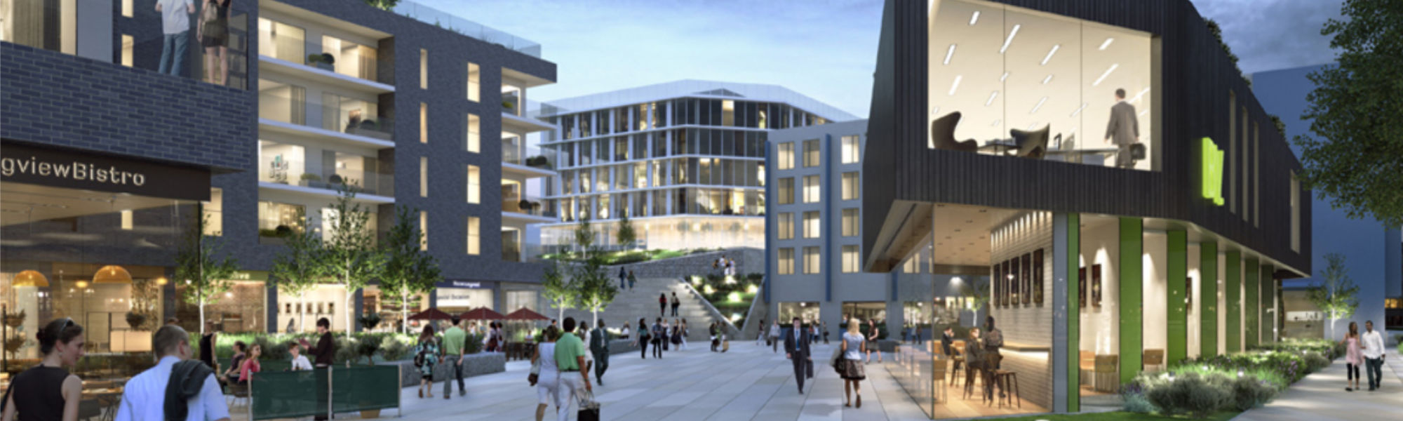 Artists impression of PCEs Project Sienna in Basingstoke