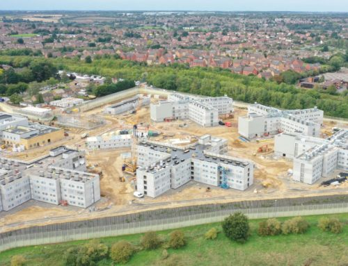 9 buildings and 1,680 prison cells built in just 45 weeks