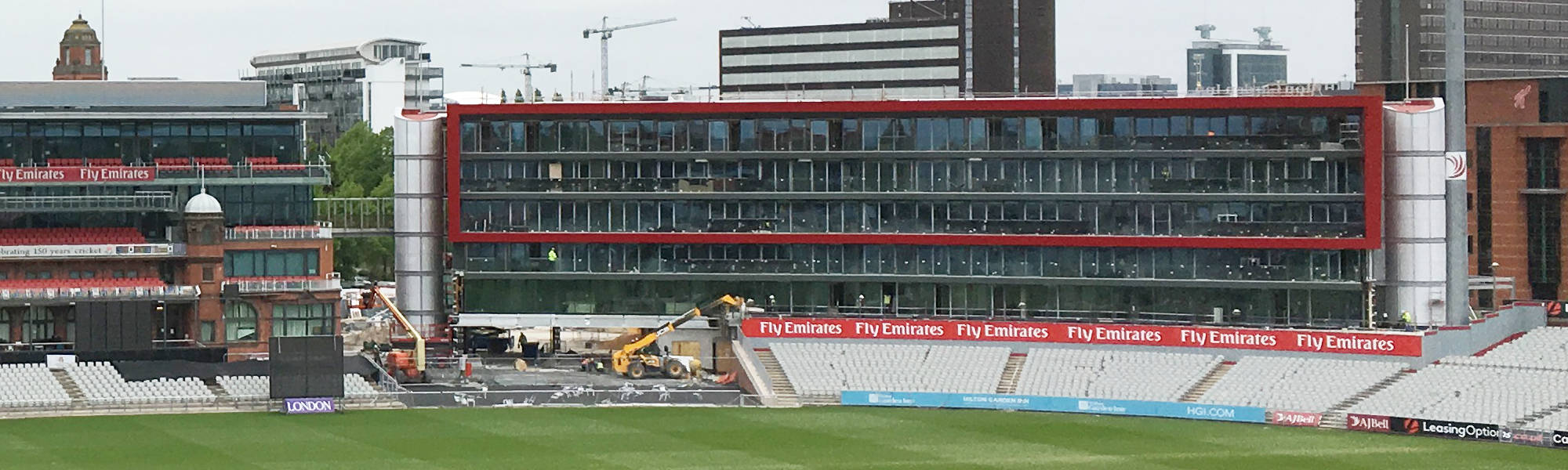 PCEs Emirates Old Trafford Hotel project