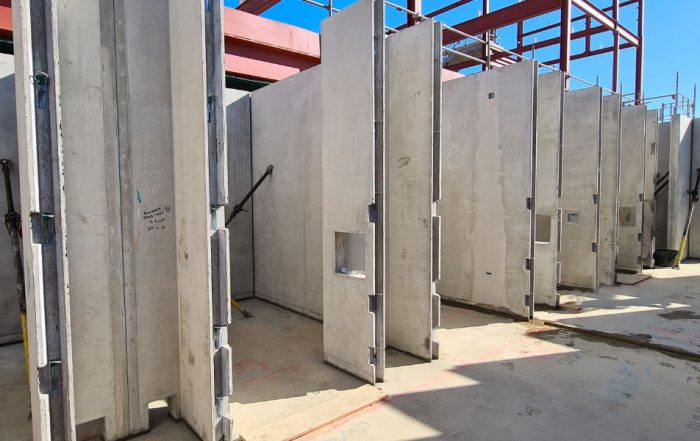 PCEs 10 day on-site build programme to assemble the 22 holding cells in 3 wings