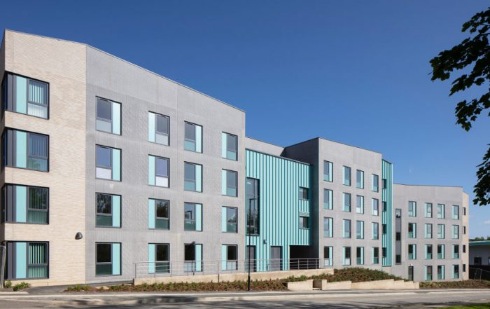PCEs HybriDfMA Living Systems approach for the 5 accommodation buildings of 4 storeys