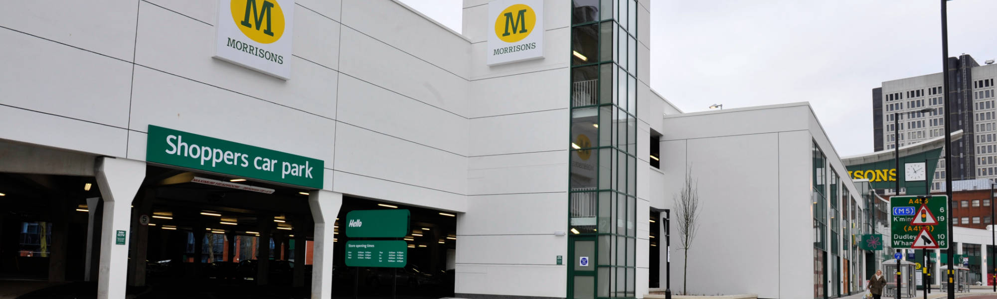 PCEs Morrisons supermarket car park project