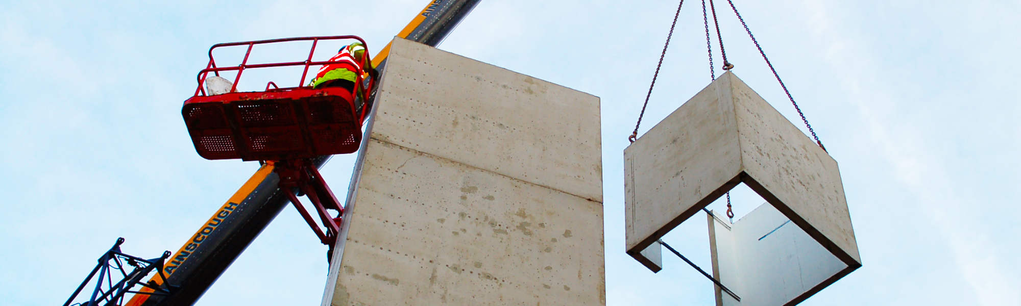 PCEs precast lift boxes in Hartlepool