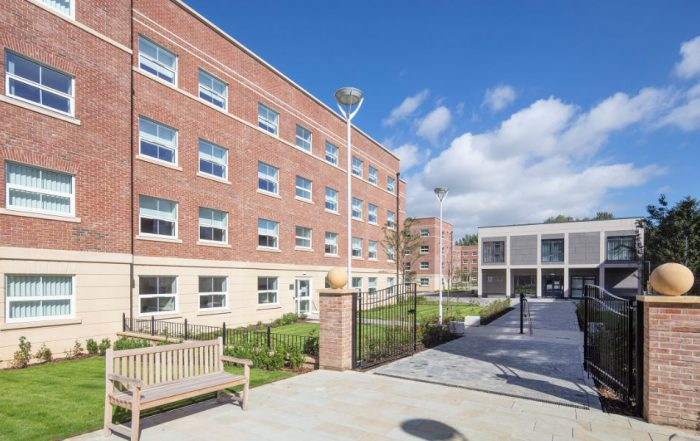 The Mount Oswald Student Accommodation project for Durham University