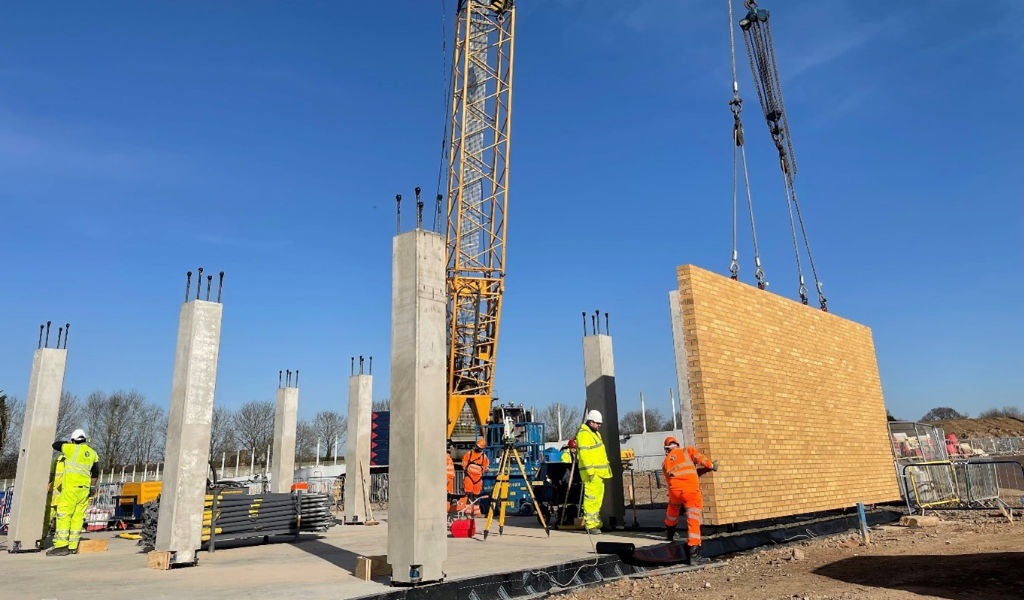 PCE has commenced construction of the HybriDfMA Secure Prison System at HMP Glen Parva