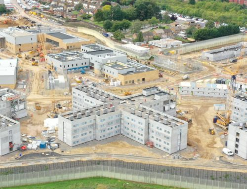 HMP Five Wells project shortlisted in CN Awards 2021
