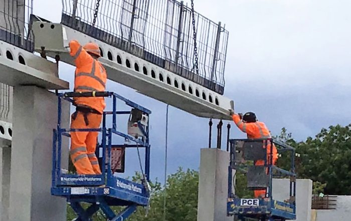 PCE's safety first approach with pre-installed leading edge protection