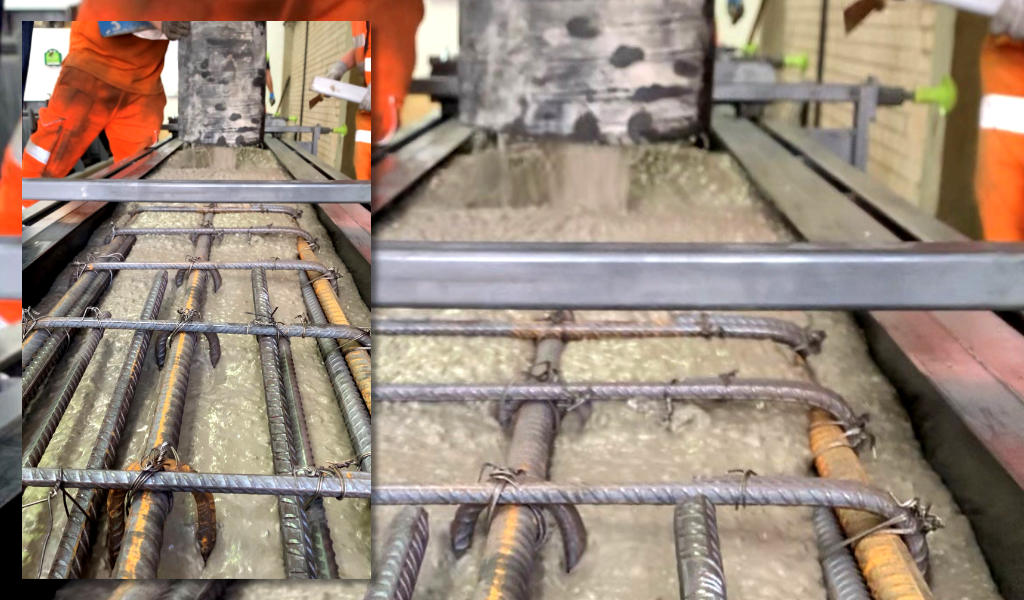 PCE Ltd has further developed their offering to clients by providing temporary:mobile precast concrete casting factories