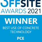 Best Use of Concrete Technology award for PCE